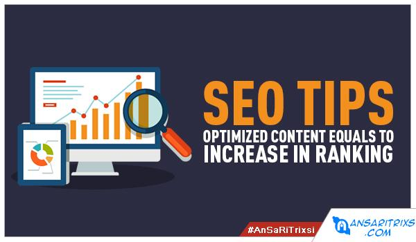 Some Useful SEO Tips Advice To Improve Ranking Of Blog