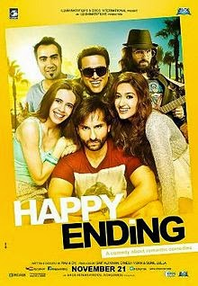 full cast and crew of bollywood movie Happy Ending with poster, trailer ft Prinka Choptra
