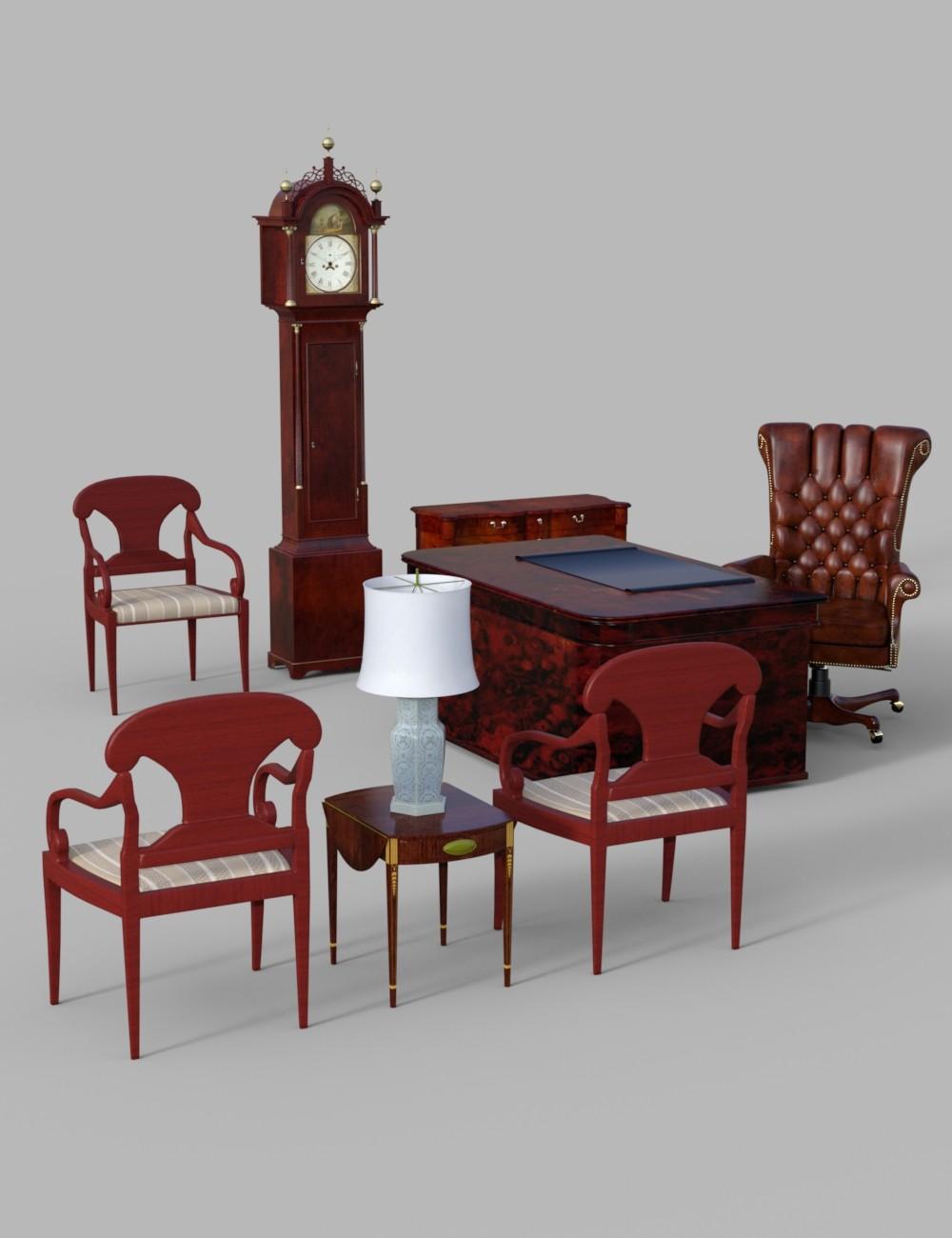 Download daz studio 3 for free daz 3d furniture set 1 for Classic furniture