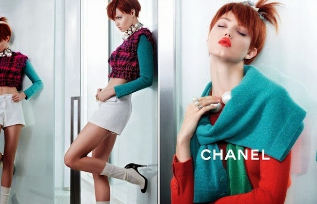 LINDSEY WIXON FOR CHANEL