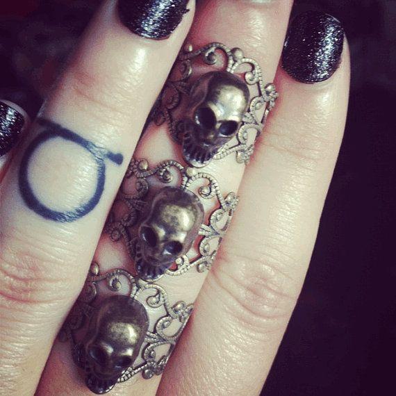 Skull Armor Ring - Rebel66 Blog