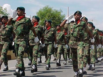 Militares timorenses vão integrar contingente português que parte para o Líbano em 2012