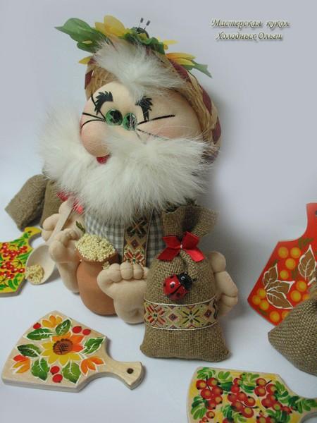 Афанасий кукла ручной работы