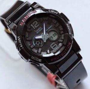 Jam Tangan G-Shock Baby-G BGA-180 Black