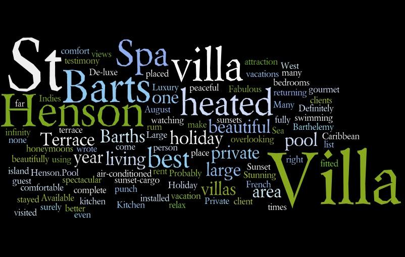St Barts, villa, rental, henson