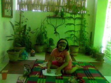 YOUNG YOGA STUDENT