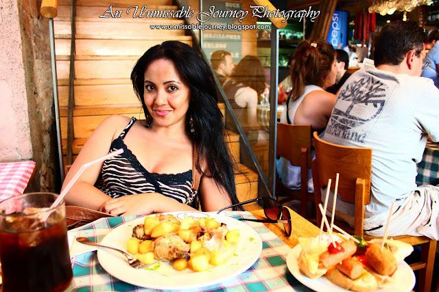 Marjolyn Lago Travel Photos Spanish restaurant tapas in Barcelona Spain