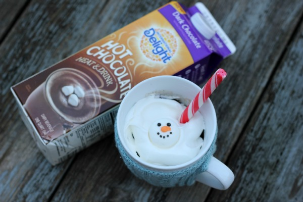 Hot Chocolate Mug Cake for One
