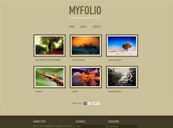 letest bloger tamplets myfolio blogger template