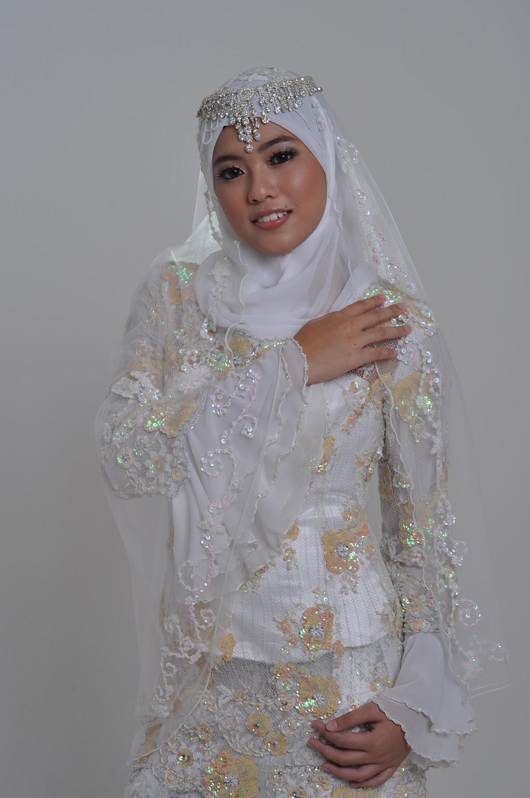 Model Baju Nikah Model Baju Pengantin Muslim Tahun 2017