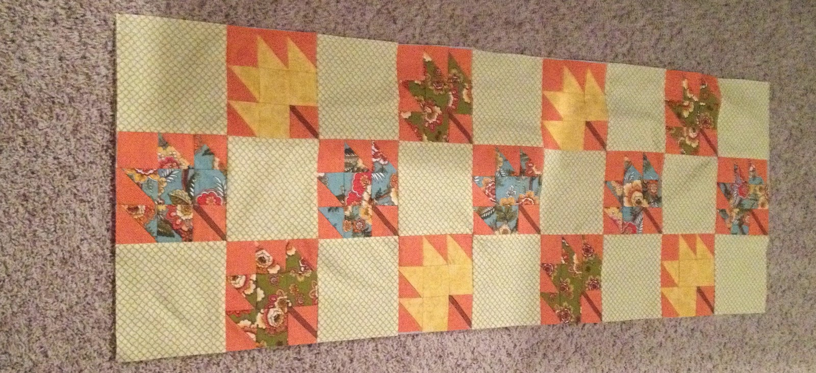 Quiltsmart Maple Leaf Pattern