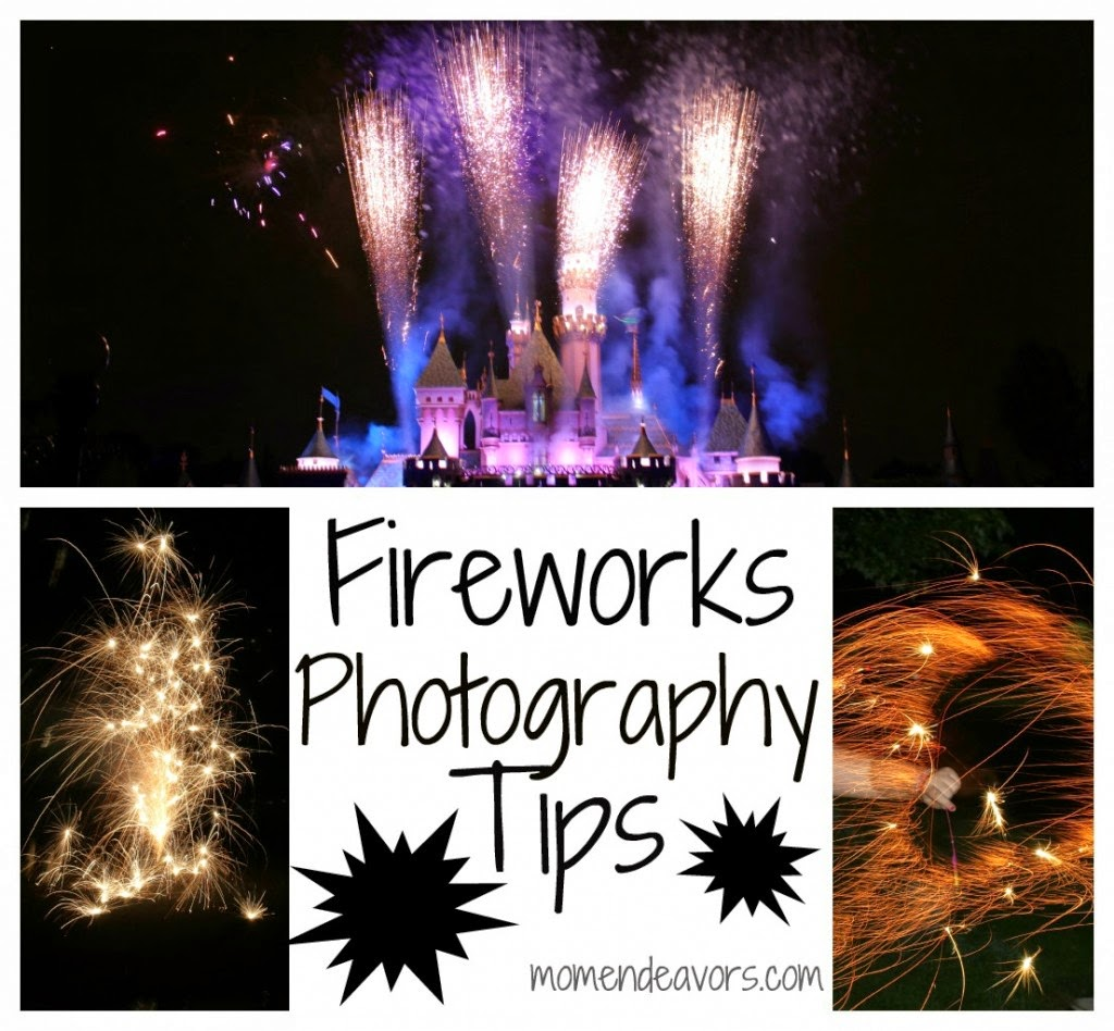 How to Photograph Fireworks Tips
