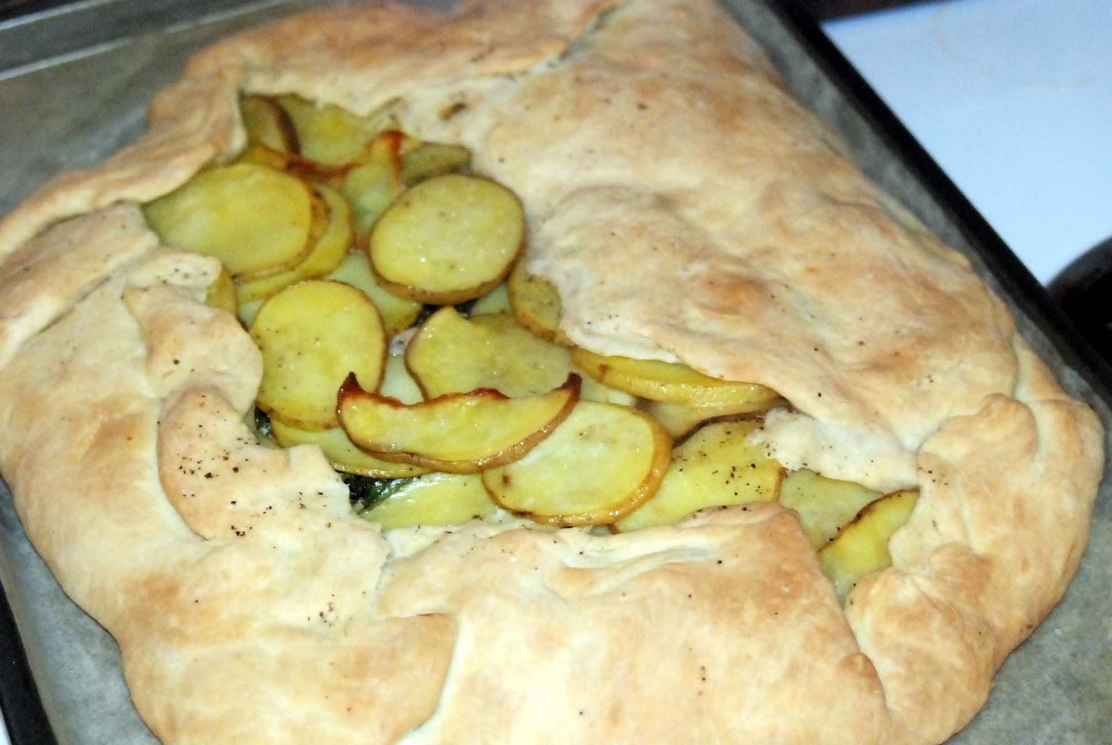 Everyday Mom: Turkey Potato Galette