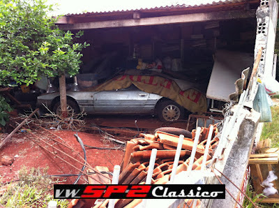 VW SP2 abandonado