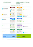 Calendario escolar 2019-20