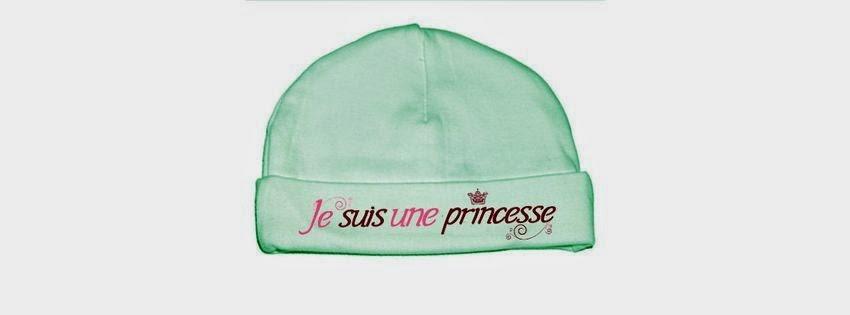 Jolie couverture facebook je suis une princesse