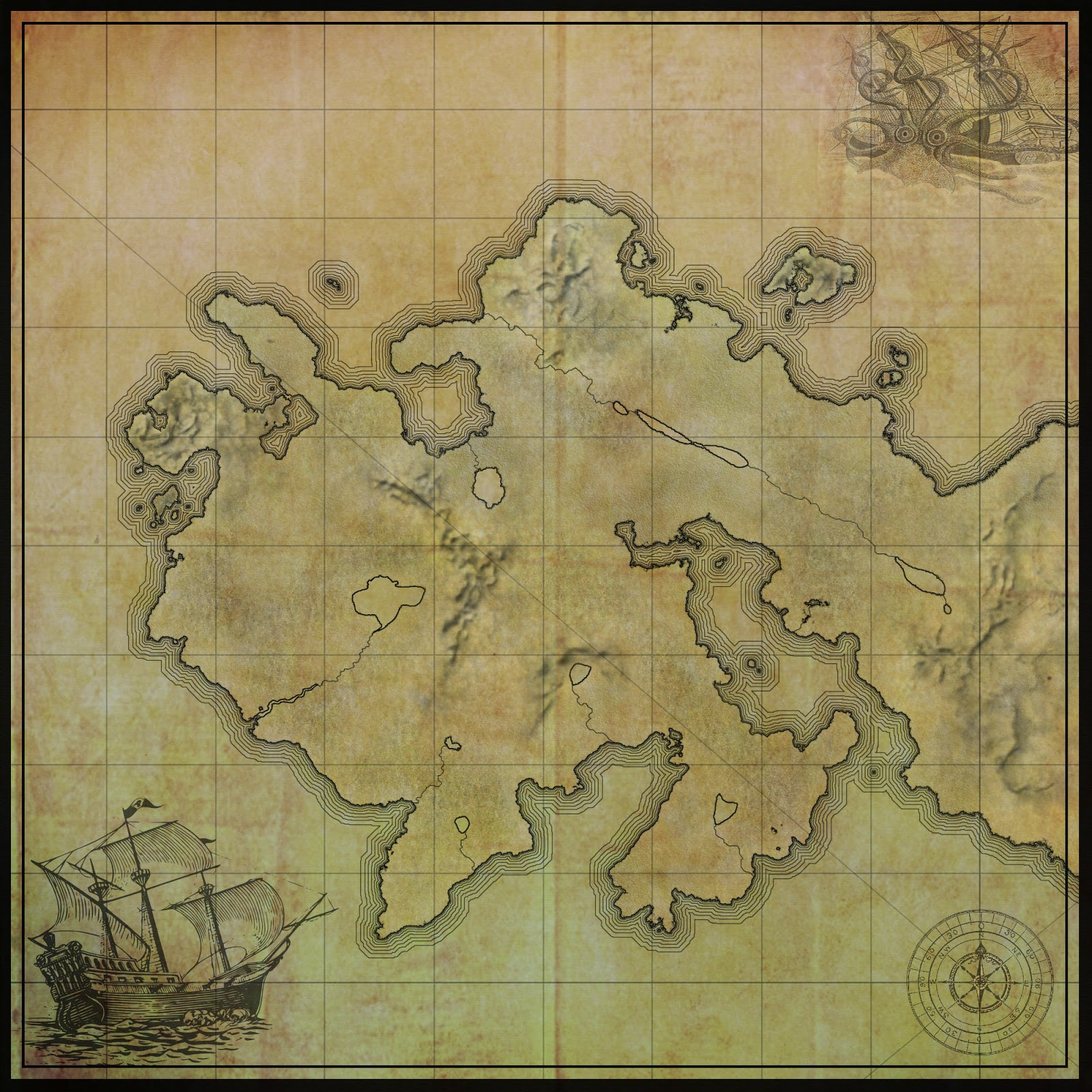 i like this map because it s an old style map but was created recently if you look closely at it you can see how regimented and exact all the lines are