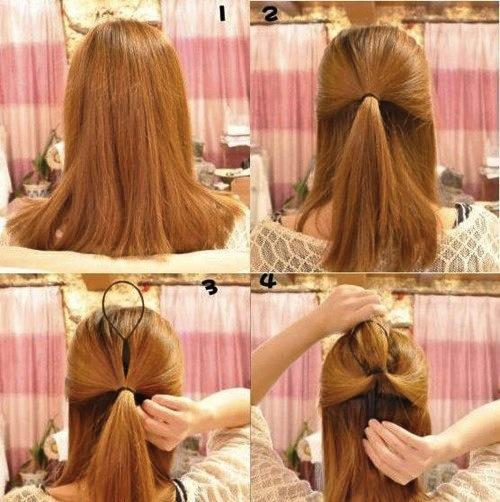 Style Simple: Cara mengikat rambut panjang ala korea