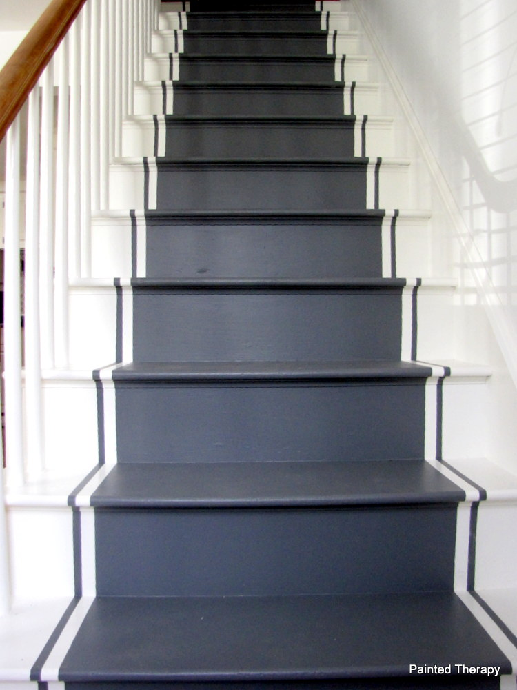 Painted Therapy: Painting Your Stairs
