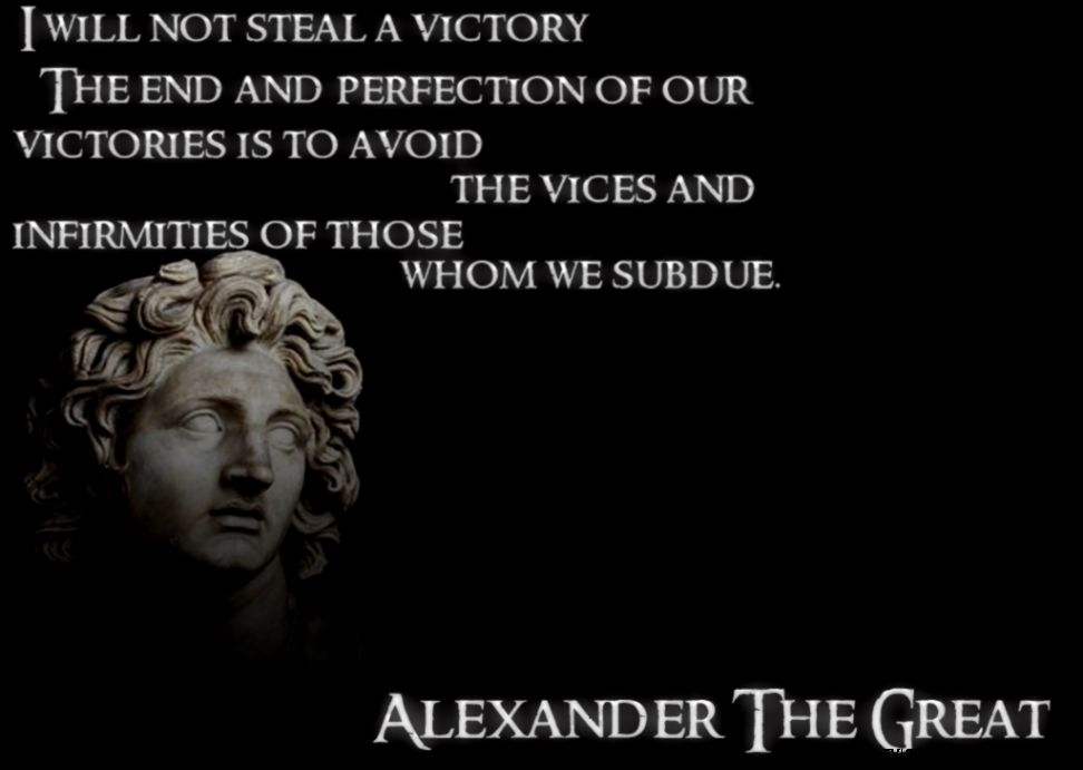 alexander the great leadership style Not only is he presented as the model for the ideal greek leader, but has influenced many other leaders throughout history, including alexander the great odysseus was a model for ancient greek leaders, and still influences our views of leadership today, although we may not even notice it.
