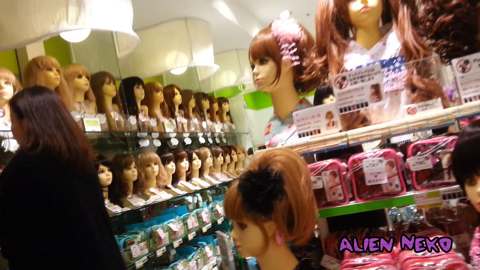 Japanese cosplay and fashion wigs