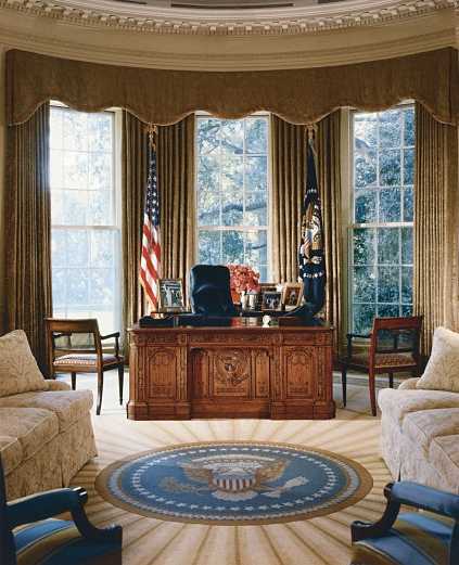 From FDR To Trump: How The Oval Office Decor Has Changed