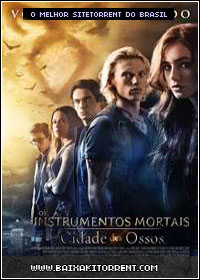 Capa Baixar Filme Os Instrumentos Mortais   Cidade dos Ossos Dublado (The Mortal Instruments: City of Bones)   Torrent Baixaki Download