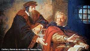 Calvino apelando ao Herege Servet