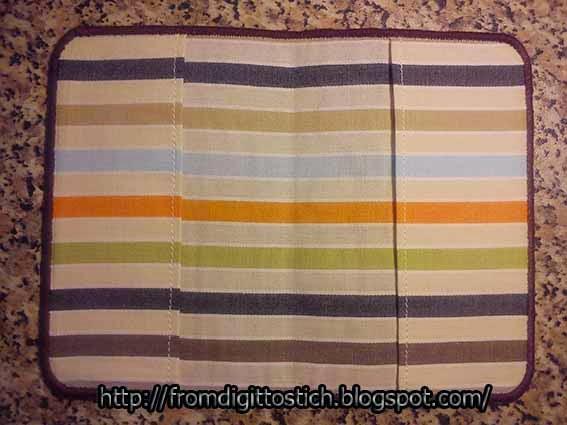текстильная обложка