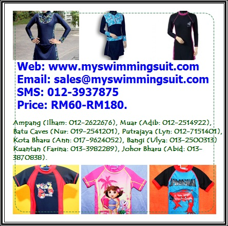 Myswimstuff - Attractive Islamic and Muslimah Swimsuit/Swimwear