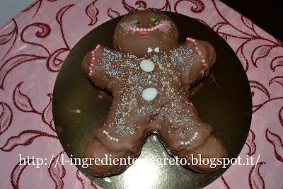 omino di cioccolato: un'idea golosa per natale!