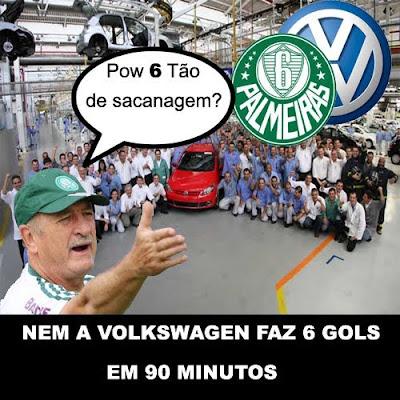 Palmeiras e Volkswagen