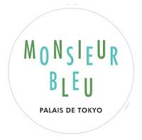 Restaurant Monsieur Bleu Paris Palais Tokyo déco verte Yves Klein