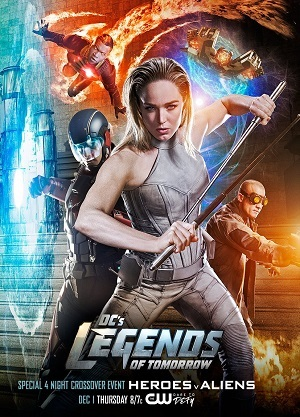 Legends of Tomorrow - Lendas do Amanhã 4ª Temporada Séries Torrent Download capa