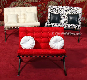 Fashion Royalty Couches & Coffee Table