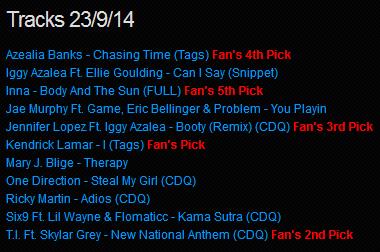 Download [Mp3]-[NEW TRACK RELEASE] เพลงสากลเพราะๆ ออกใหม่มาแรงประจำวันที่ 23 September 2014 [Solidfiles] 4shared By Pleng-mun.com
