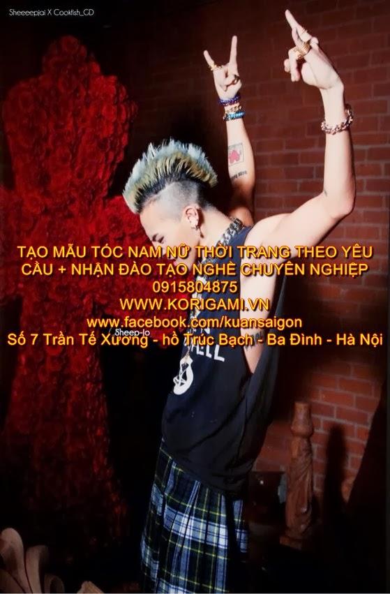 """Nhiều bài báo khi khen ngợi phong cách của nghệ sĩ nam nào đó thường giật những cái title như """"Hoàng tử thời trang của Hàn Quốc"""" (bởi danh hiệu """"ông hoàng"""" đã thuộc về G-Dragon), """"Vị trí sau G-Dragon là ai?""""... Tất cả những điều đó như một lần nữa khẳng định: ngai vàng thời trang của Hàn hiện tại không thể được thống trị bởi ai khác ngoài G-Dragon! Nói về niềm đam mê thời trang của mình, anh chia sẻ: """"Cũng như các nghệ sĩ hiphop khác, tôi muốn có thương hiệu riêng của mình, muốn mở một cửa hàng của riêng tôi. Đó là một nơi đáng để 'thăm quan' cho các tín đồ thời trang trên thế giới khi họ tới Hàn Quốc. Tôi muốn mọi người cảm nhận được cửa hàng có những nhân viên tuyệt vời, quần áo thời thượng, nhạc hay và nó sẽ là nơi kết hợp giữa những xu hướng thời trang và văn hóa, nơi họ có thể học hỏi nhiều điều. Tôi muốn tạo ra một không gian để các tín đồ thời trang tụ họp và cùng làm nên một nền văn hóa đặc biệt. Thay vì thời trang sang trọng, tôi thích hợp với văn hóa đường phố và các nhãn hiệu thời trang độc đáo, kỳ lạ hơn""""."""