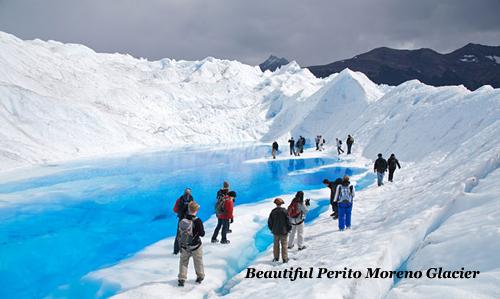 Beautiful Perito Moreno Glacier