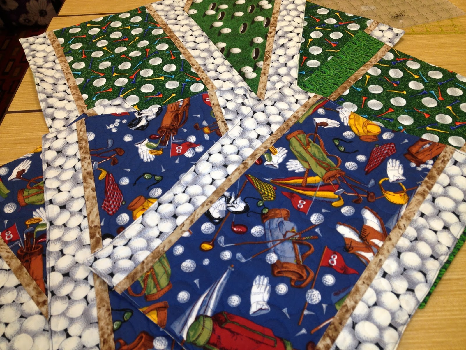 PugMom Quilts!: Finished Projects (and almost finished projects ... : golf quilts - Adamdwight.com