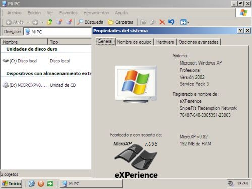 micro xp download iso