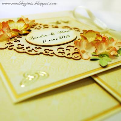 barbara wójcik kartki okolicznościowe kartka na wesle składaczek