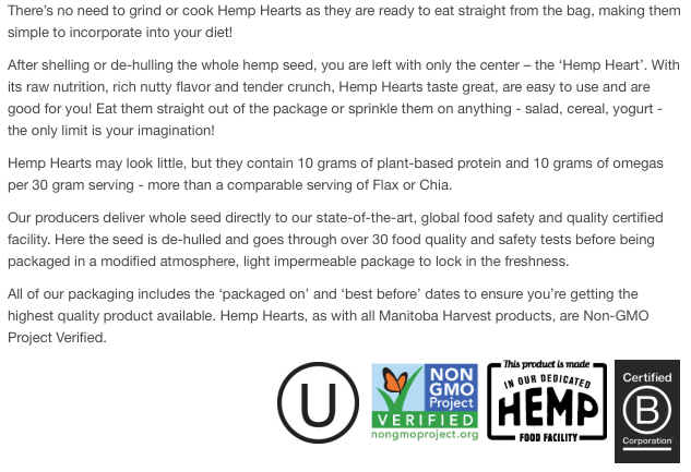 About Hemp Hearts
