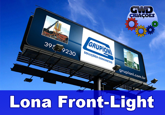 Banner Lona Front Light