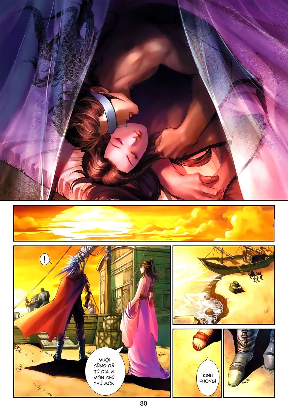 Thần Binh Tiền Truyện 4 - Huyền Thiên Tà Đế chap 9 - Trang 30