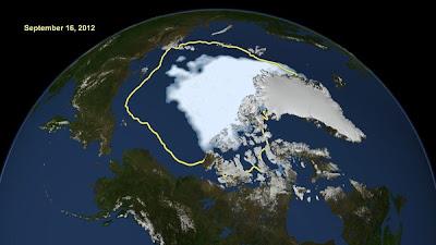 Ais lautan Artik semakin mencair