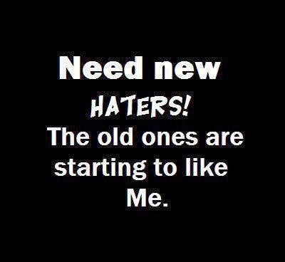 Haters Quotes Wallpapers