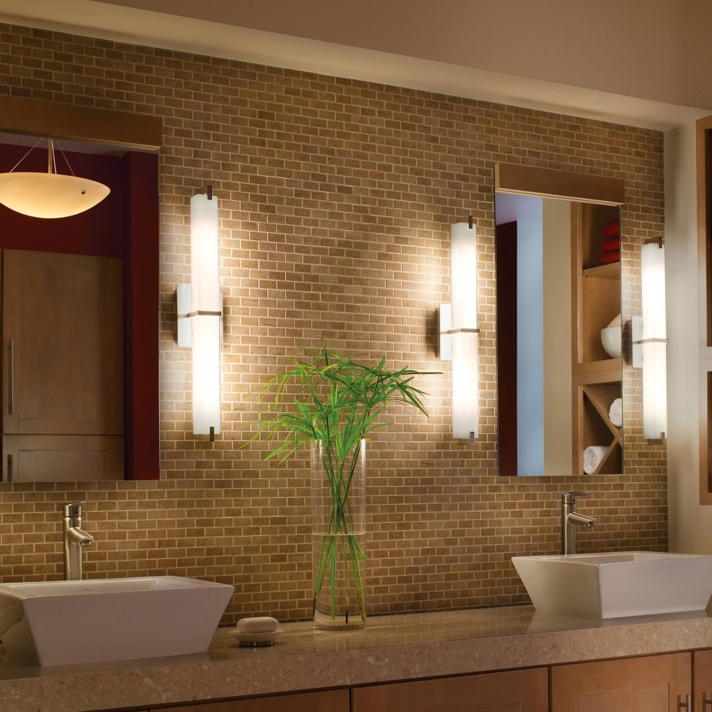 metro bathroom lighting design ideas