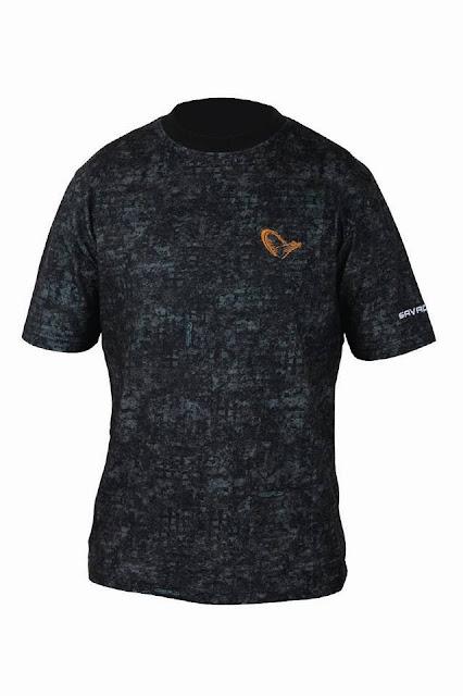 Quentin Combe Savage Gear Nouveautés News 2014 Vêtements Mimicry T Shirt Camouflage Urbain Numérique