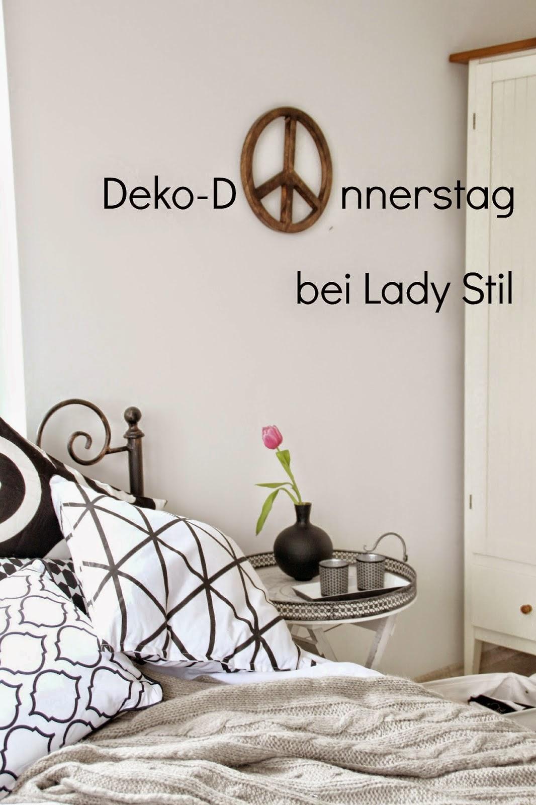 Deko-Donnerstag bei Lady Stil