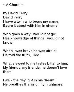Corinne's Poetry blog: Poetry Posting:Couplet
